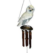 Snowy Owl Wind Chime