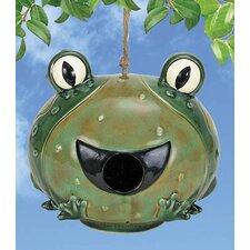 Frog Bird House