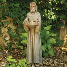 St. Francis Statuary Decorative Bird Feeder