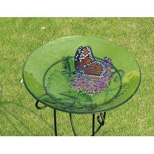 Bird Bath Monarch Lilac in Glass (Set of 2)
