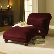 <strong>Klaussner Furniture</strong> Reststop Fabric Chaise Lounge