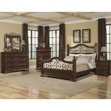 <strong>Klaussner Furniture</strong> San Marcos Panel Bedroom Collection
