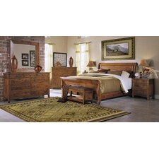 <strong>Klaussner Furniture</strong> Urban Craftsmen Sleigh Bedroom Collection