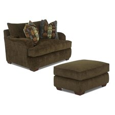 Vaughn Arm Chair and Ottoman