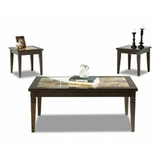 Allendale 3 Piece Coffee Table Set