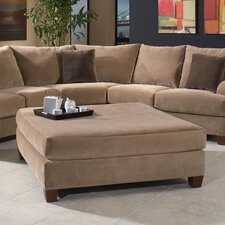 <strong>Klaussner Furniture</strong> Canyon Ottoman