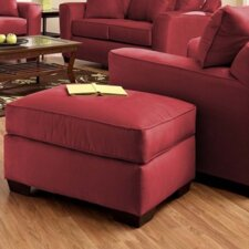 Heather Fabric Arm Chair and Ottoman