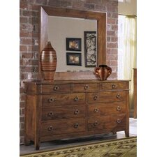 <strong>Klaussner Furniture</strong> Urban Craftsmen 9 Drawer Dresser