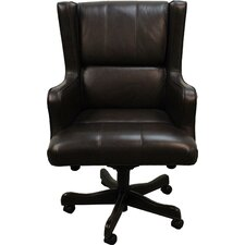 Leather Mid Back Desk Chair