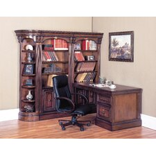 "<strong>Parker House Furniture</strong> Huntington 27.25"" H x 30.5"" W Desk Return"