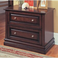 <strong>Parker House Furniture</strong> Sterling 2 Drawer File Cabinet