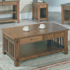 <strong>Parker House Furniture</strong> Mobile Coffee Table