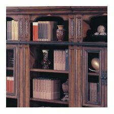 "DaVinci 32"" Open Bookcase Top in Dark Chestnut"