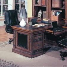 "DaVinci 30"" H x 32"" W Peninsula Desk Base"