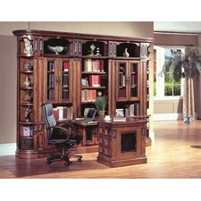 DaVinci L Shape Desk Office Suite