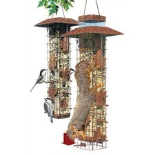 Birdscapes Squirrel Be Gone Caged Bird Feeder