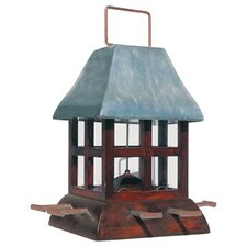 Metal Paul Revere Gazebo Bird Feeder