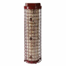 Easy Caged Bird Feeder