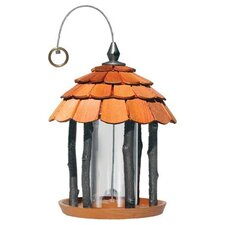 Wood Gazebo Feeder