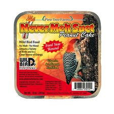 Peanut Butter Never Melt Suet Cake (Set of 12)