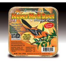 Orange Never Melt Suet Cake