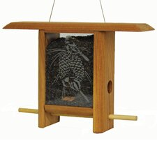 Chickadee Pine Cone Teahouse Hopper Bird Feeder