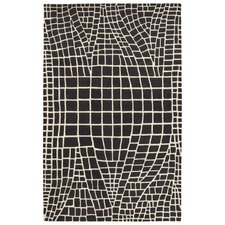 <strong>LR Resources</strong> Jaali Charcoal Rug
