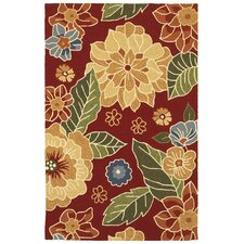 Orleans Red Indoor/Outdoor Rug