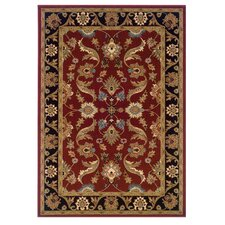 Adana Red/Black Persian Rug