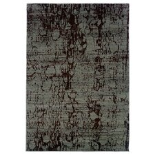 Opulence Light Brown/Light Blue Splash Rug