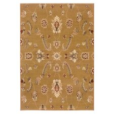 <strong>LR Resources</strong> Adana Gold Traditional Design Rug