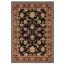 Adana Black/Red Persian Rug