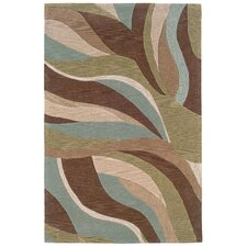 Fashion Abstract Curves Rug