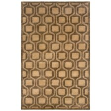 Majestic Natural Geometric Rug