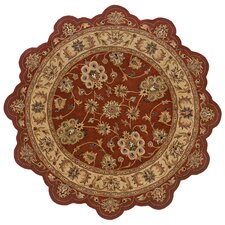 Shapes Rust/Gold Persian Rug