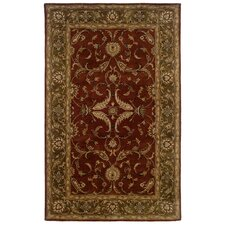 Heritage Rust/Medium Green Rug