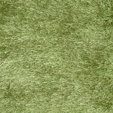 Senses Shag Green Rug