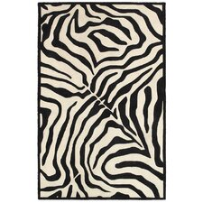 Fashion Black/Ivory Area Rug