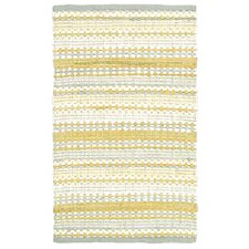 Dhurry Yellow/Gray Rug