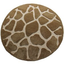 Fashion Natural Giraffe Rug