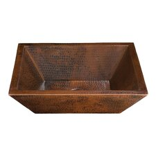 Limited Editions Diego II Rectangular Bathroom Sink
