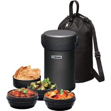 4-Piece Vacuum Insulated Tiffin Box Set