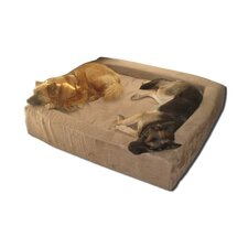 Comfort Nest Memory Foam Bolster Dog Bed