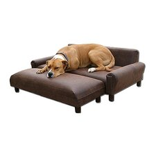 BioMedic Modern Pet Sofa and Ottoman Set