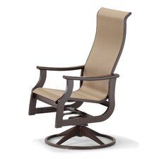 "St. Catherine 44"" Swivel Rocking Dining Arm Chair"