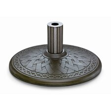 <strong>Telescope Casual</strong> Cast Aluminum Market Umbrella Base