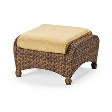 Key Biscayne Ottoman with Cushion