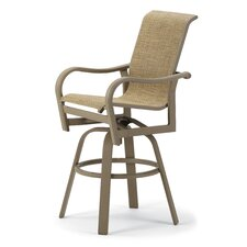 Ocala Bar Height Swivel Arm Chair