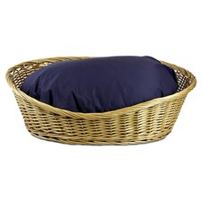 Medium Wicker Dog Basket