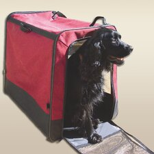 <strong>Snoozer Pet Products</strong> Collapsible Travel Pet Crate